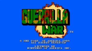 Guerrilla War (NES) Game Hub