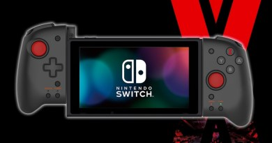 Special Hori Daemon X Machina Joy-Cons Are Massive