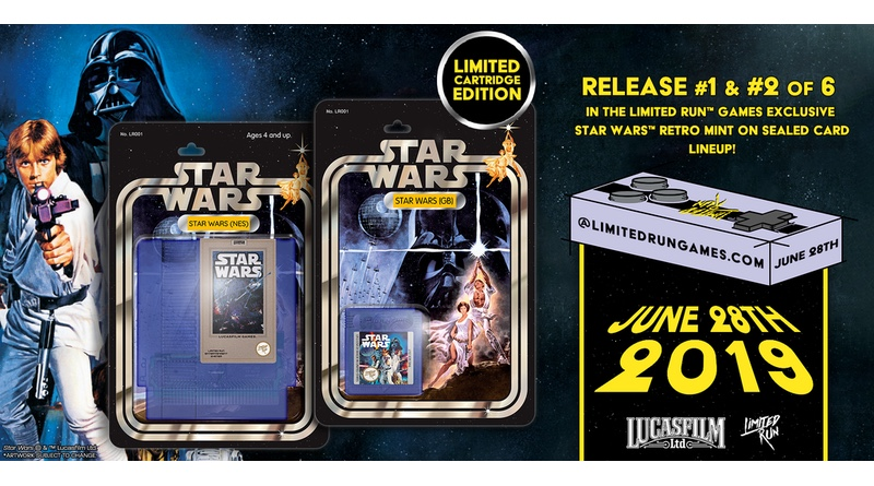 Star Wars (NES & Game Boy) Carts Going On Sale This Friday