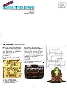 Sunsoft Game Time News 04 Fall 1989 page 8