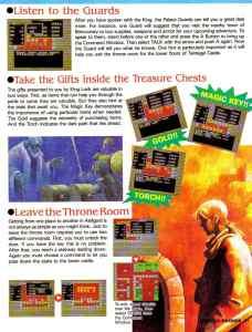 Nintendo Power | November December 1989 | Dragon Warrior Strategy Guide pg-21