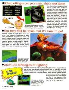Nintendo Power | November December 1989 | Dragon Warrior Strategy Guide pg-24