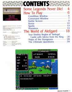 Nintendo Power | November December 1989 | Dragon Warrior Strategy Guide pg-3