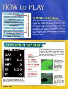 Nintendo Power | November December 1989 | Dragon Warrior Strategy Guide pg-6