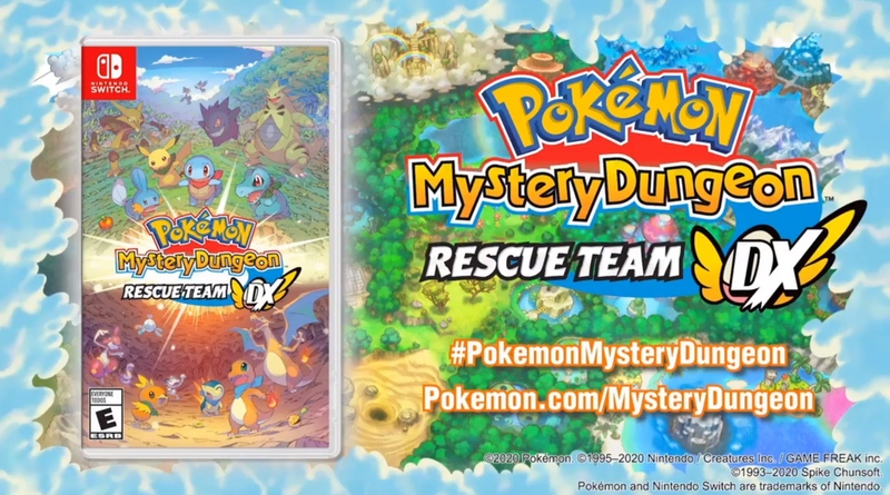 New Video & Official PR For Pokémon Mystery Dungeon: Rescue Team DX