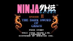Ninja Gaiden II: The Dark Sword Of Chaos (NES) Game Hub