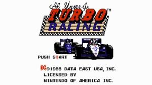 Al Unser Jr.'s Turbo Racing (NES) Game Hub