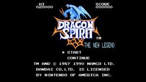 Dragon Spirit: The New Legend (NES) Game Hub