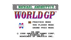 Michael Andretti's World Grand Prix (NES) Game Hub