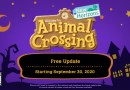Animal Crossing: New Horizons Fall Update Arrives September 30