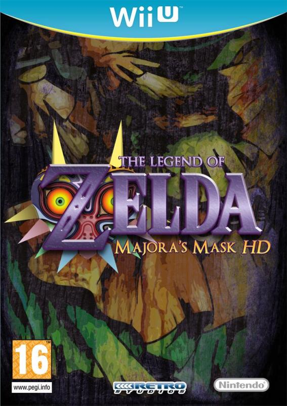 majoras mask hd remake - All Wii U Games Torrent Download