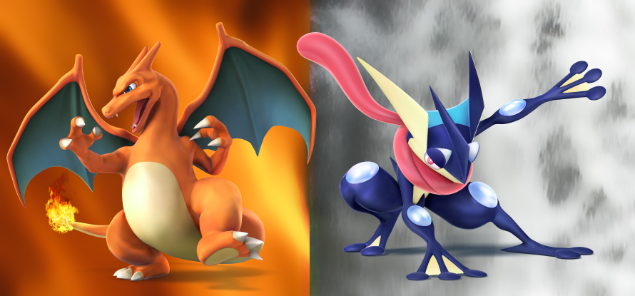 Charizard And Greninja Announced For Super Smash Bros
