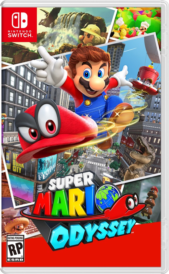 Image result for super mario odyssey game case