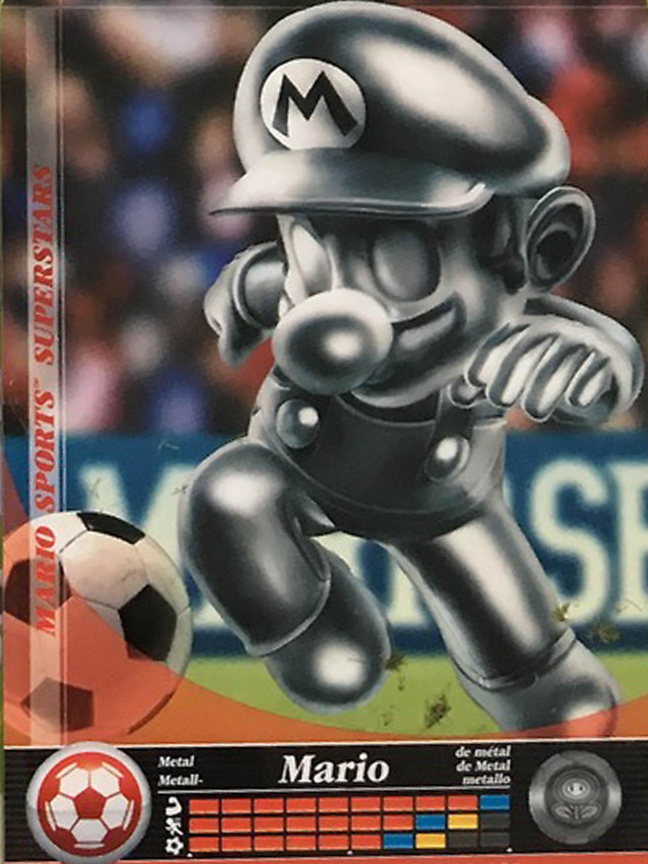 Metal Mario Soccer Nintendo Wire
