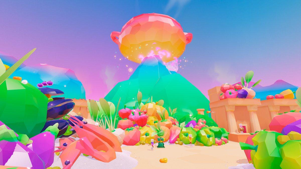 Super Mario Odysseys Luncheon Kingdom Named Nintendo Wire