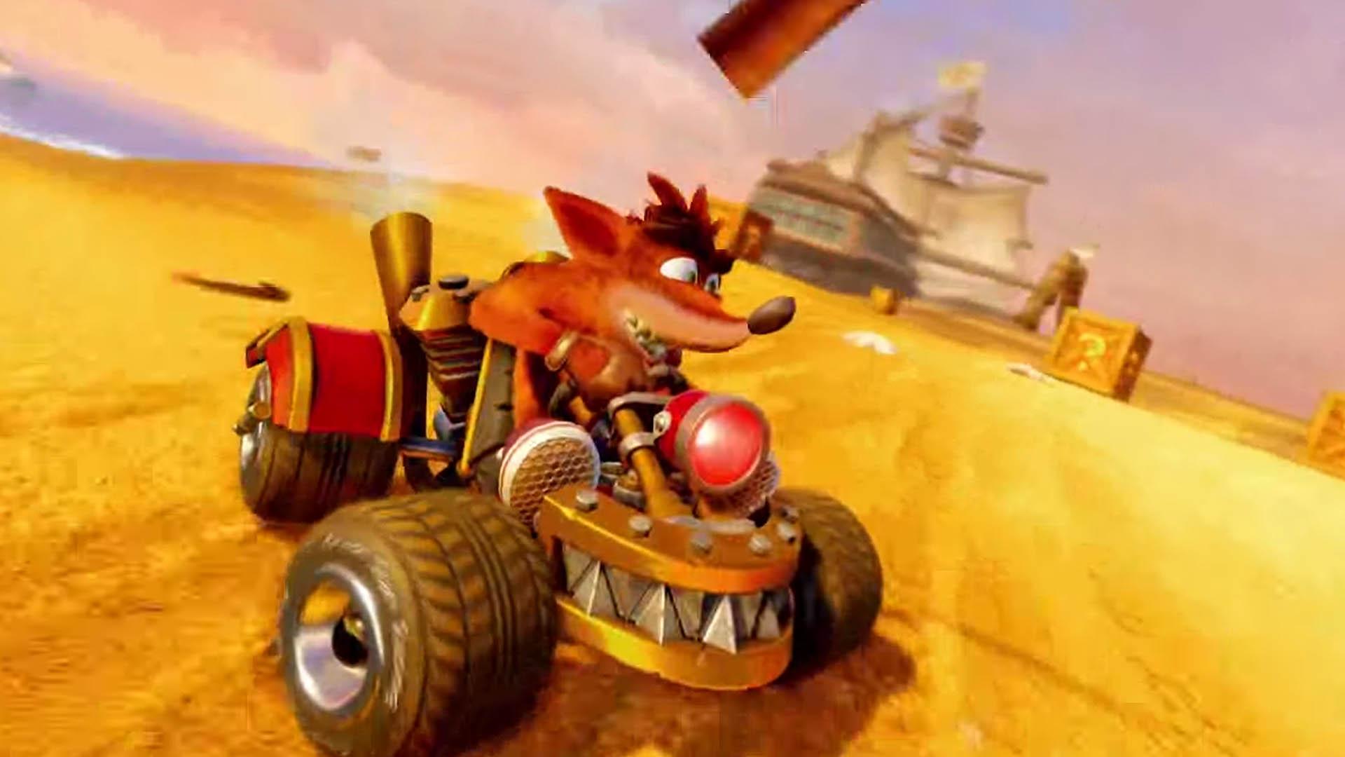 Crash Team Racing Confirmed For Nintendo Switch Nintendo