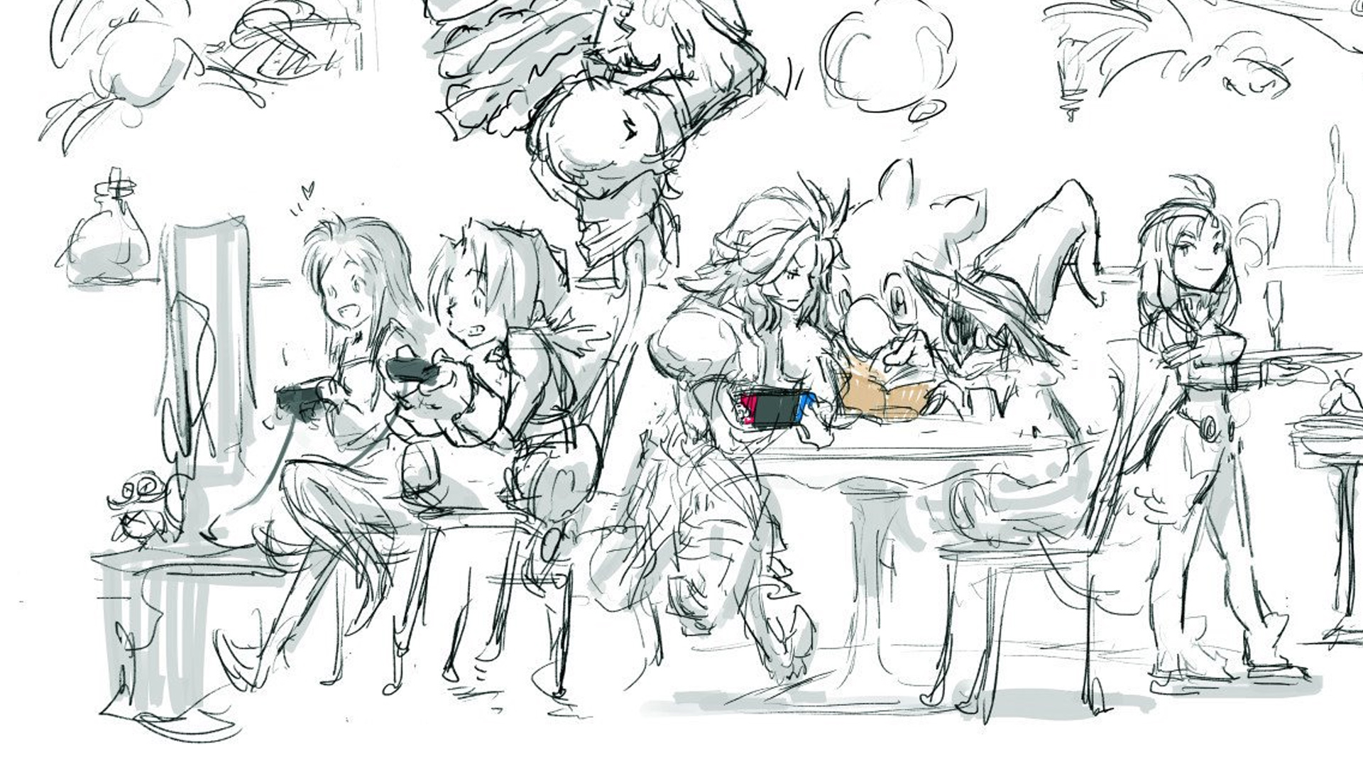 Final Fantasy Ix Character Designer Draws Up The Gang
