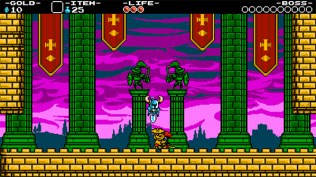 Shovel Knight Screenshot Fighting