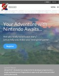 Nintendo website portal