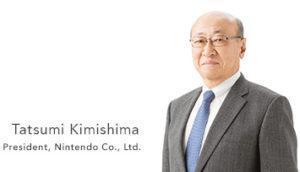 Nintendo president Tatsumi Kimishima Photo