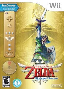 Zelda Skyward Sword Box Art - Wii - North American Version