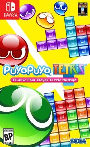 Puyo Puyo Tetris Nintendo Switch Box Art