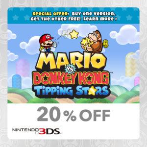 Mario vs. Donkey Kong Tipping Stars Nintendo 3DS