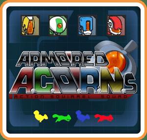 Armored ACORNs Action Squirrel Squad Wii U