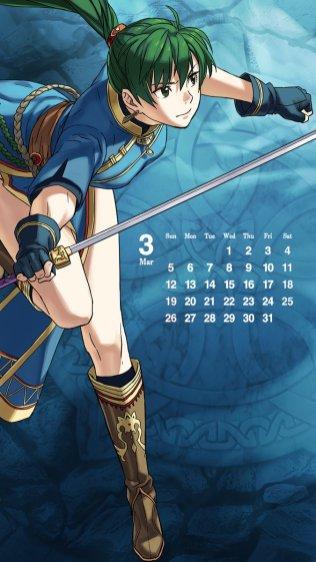 lyn fire emblem calendar