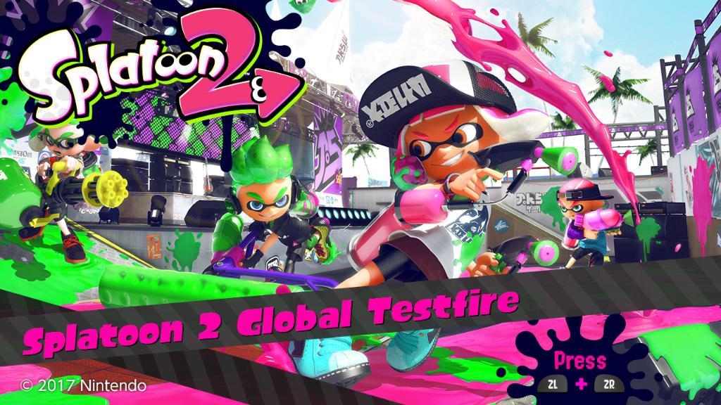 Splatoon 2 Global Testfire Demo
