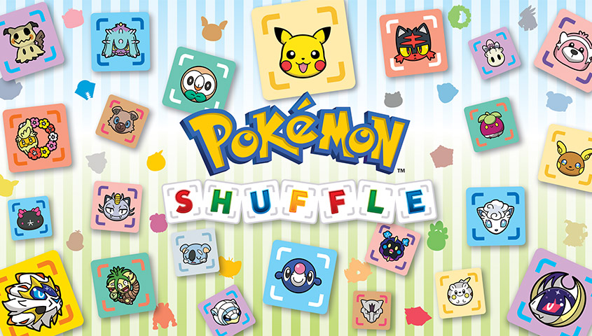 Pokemon Suffle for Nintendo 3DS and Mobile New Alolan