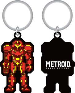 Picture of Samus Keychain