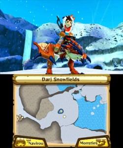 Screenshot of Snow Area