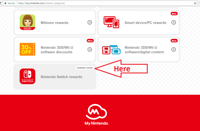 My Nintendo Adding Nintendo Switch Rewards Soon!