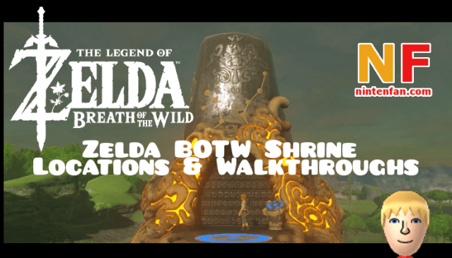 zelda botw shrine locations & walkthroughs