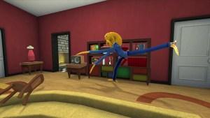 Octodad in living room
