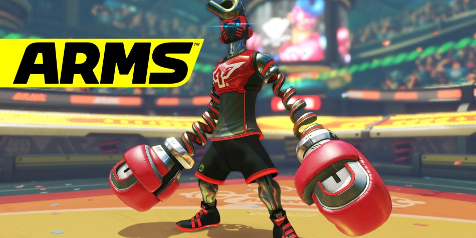 Springtron in ARMS on Switch