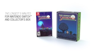 Switch The Longest 5 Minutes with collector case