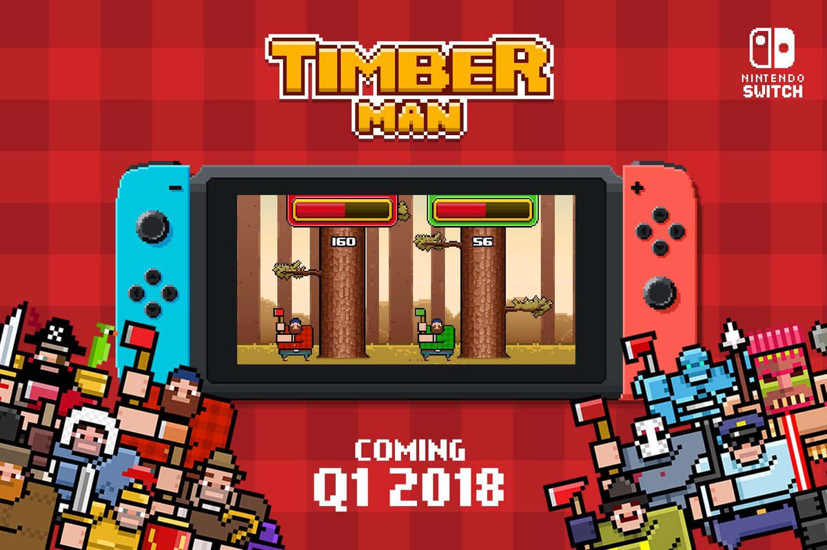 Timber Man Nintendo Switch