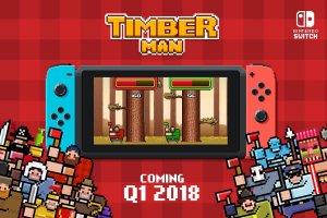 Timber Man Nintendo Switch