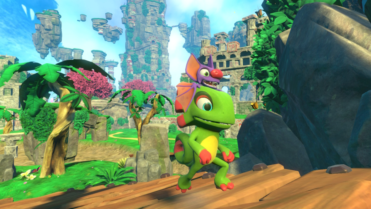 Yooka-Laylee Coming to Switch