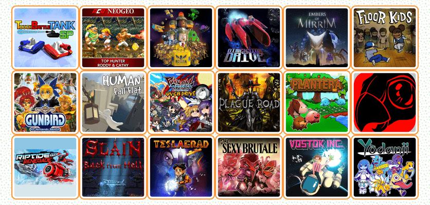Nintendo Switch games releasing in December 2017