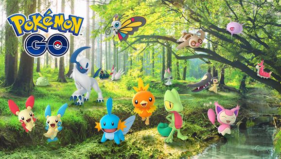 Pokemon Go weather updates