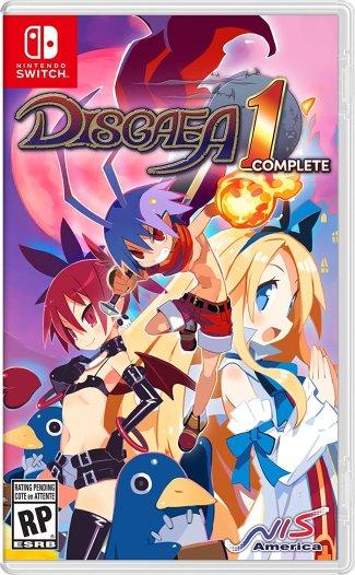 Disgaea 1 Complete - Nintendo Switch box art