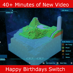 Gameplay video of Happy Birthdays on the Switch