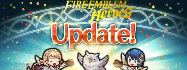 FE Heroes Update 2.5.0