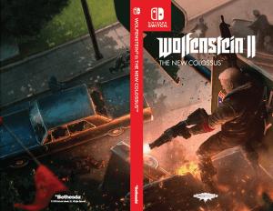 Wolfenstein II: The New Colossus Box Art