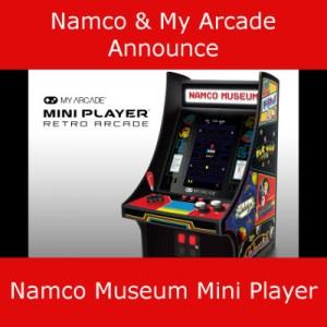 My Arcade Announce Namco Museum Mini Player