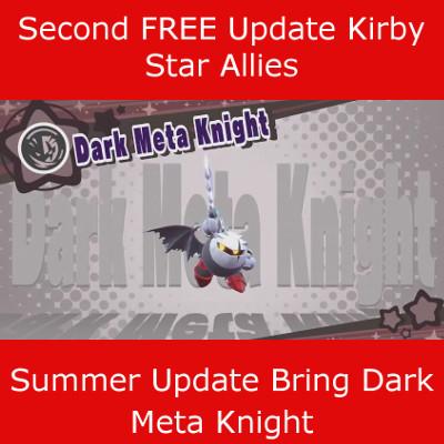 Kirby Star Allies Dark Meta Knight DLC