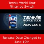 World Tennis Tour Switch Release Date